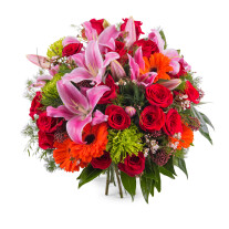 Bouquet of mixed flowers