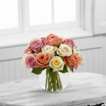 The FTD Sundance Rose Bouquet